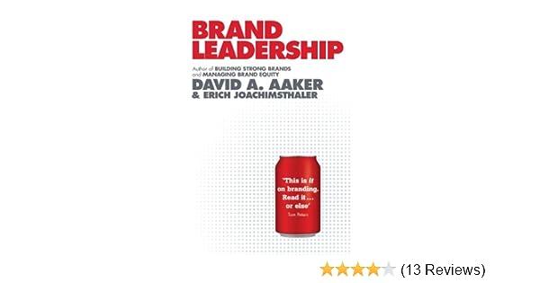 Brand Leadership EBook David A Aaker Erich