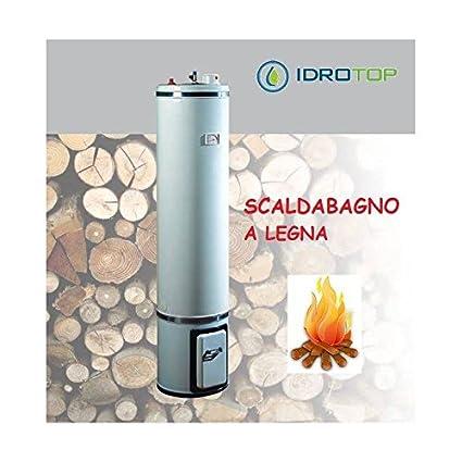 Calentador a leña L80 coibentazione de lana de cristal – Bandini ideal para Avere Agua Caliente