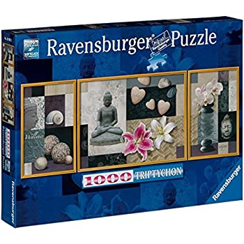 Ravensburger Peace And Harmony 1000 Piece Tryptichon Puzzle Toys Games