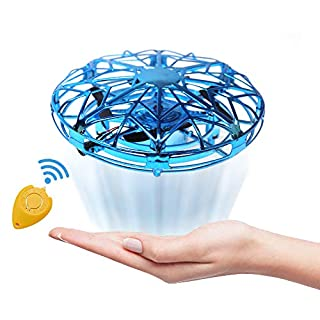 Mini Drones for Kids, JoyGeek Flying Toys Gift for Boys or Girls Toddlers, Scoot Hands Operated Mini RC Quadcopter UFO Ball Small Orb Easy Flying Indoor Helicopter with Remote Control