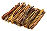 TickledPet USA Bully Sticks 6'' - 100% All Natural Made in The USA Premium Beef Dog Treats