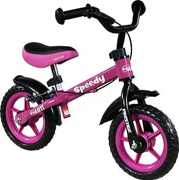 Bicicleta infantil sin pedales - Bicicleta sin pedales - Bicicleta equilibrio ARTI Speedy M Luxe Pink First Bike: Amazon.es: Juguetes y juegos