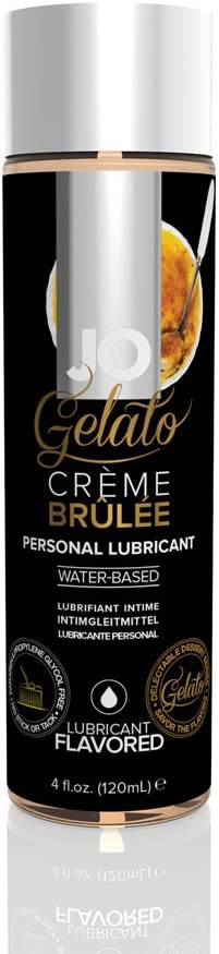 System Jo Gelato Personal Lubricant, Creme Brulee, 4 Ounce