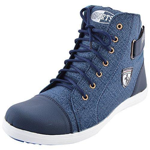 Essence Men's Blue Casual Shoes