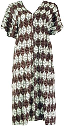 42 Damen Size Bekleidung Ponchokleid Shop Weiß Maxikleid Midi Taupe amp; Alternative Synthetisch Lange Kleider Kaftan Guru aT8I0wx