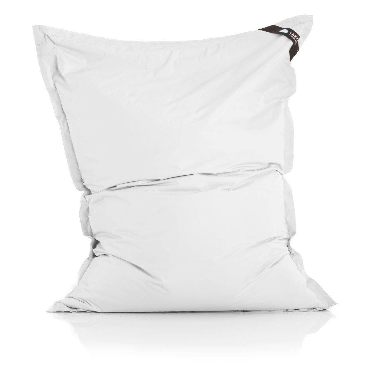 Nylon 180 x 140/cm imbottitura: 360 L Poltrona a sacco originale Lazy Bag per esterni dimensioni XXL grigio chiaro Nylon