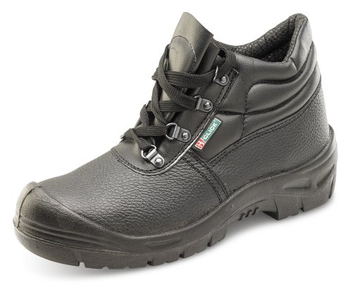 Click Dual Density Steel Toe & Midsole Chukka Boot Black - UK Size 12