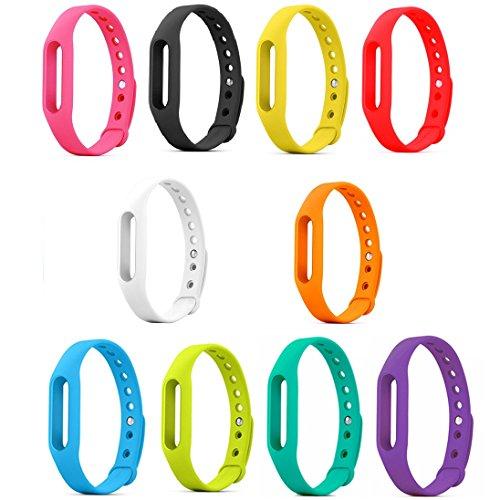 Replacement TPU Wrist Band for Xiaomi MI Band (Pink) - 2