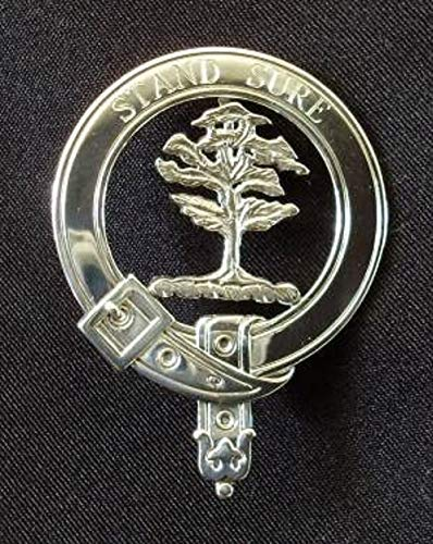 Anderson Scottish Clan Crest Badge in Solid Sterling Silver or 14K Yellow Gold