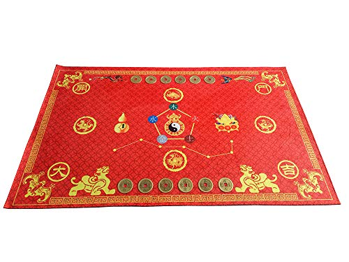 Lucky Feng Shui Bagua Map Non Slip Door Mat 30
