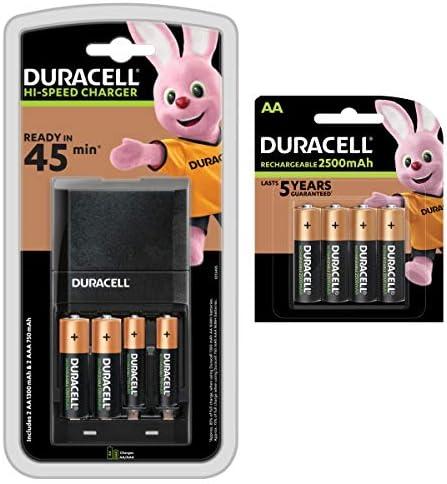 Duracell Hi Speed Advanced Ladegerät Mit 6 Aa Und 2 Aaa Elektronik