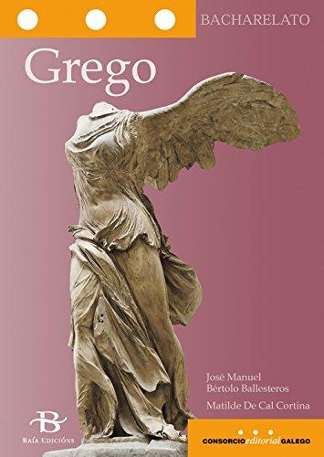 Grego (Libros de texto) (Gallego) Tapa blanda – 17 ago 2017 Matilde De Cal Cortina 8499952275 Galician (Gallego Galego)