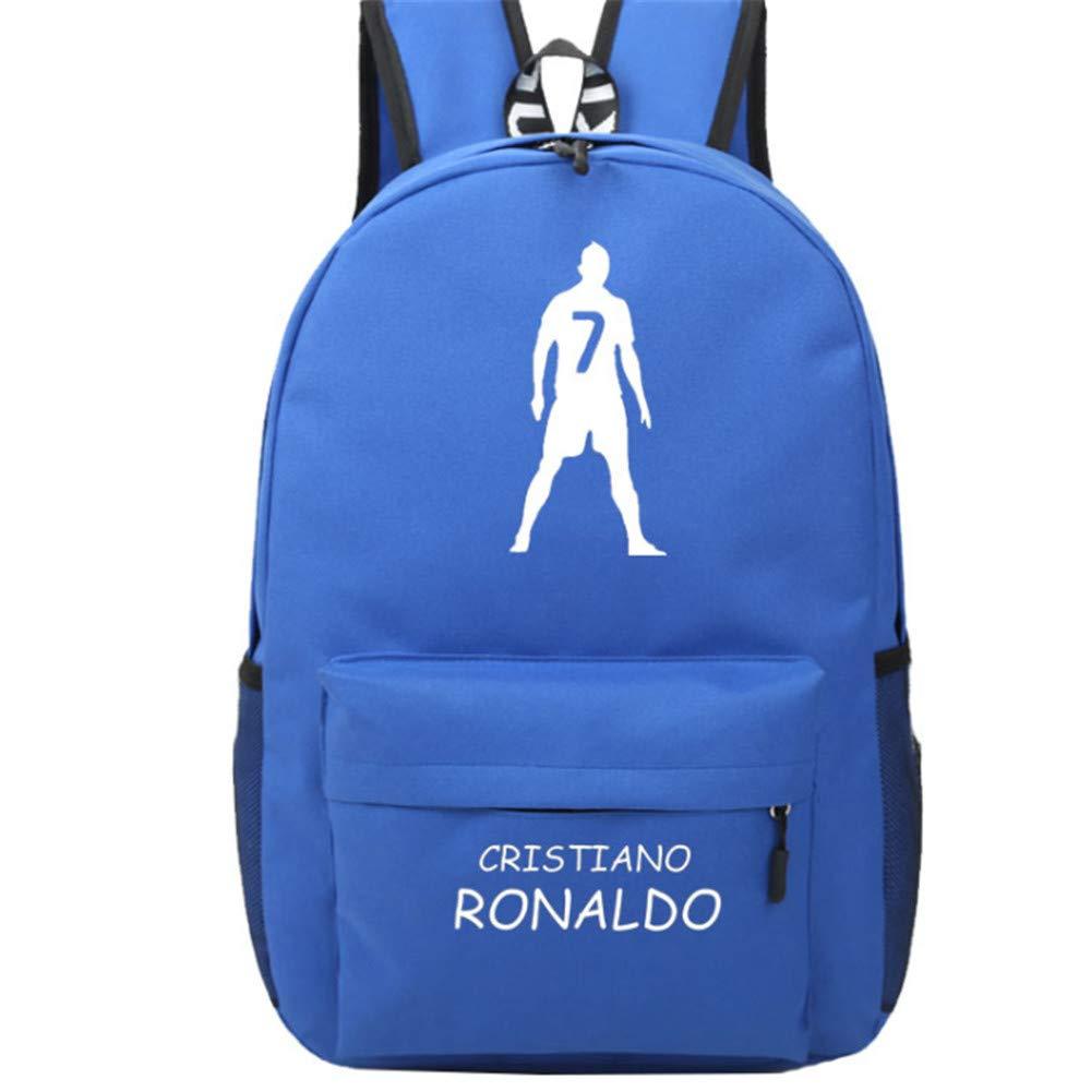 Enjoyfeel Real Madrid Laptop Umh/ängetasche f/ür Outdoor Schulreisen Ronaldo Fans Geschenk Black Rucks/äcke