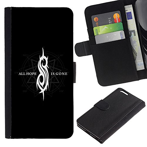 UNIQCASE - Apple Iphone 6 PLUS 5.5 - All Hope Is Gone - Cuir PU Coverture Shell Armure Coque Coq Cas Etui Housse Case Cover