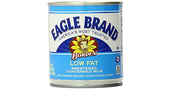 Amazon.com : Eagle Brand Low Fat Sweetened Condensed Milk, 14 Ounce : Grocery & Gourmet Food
