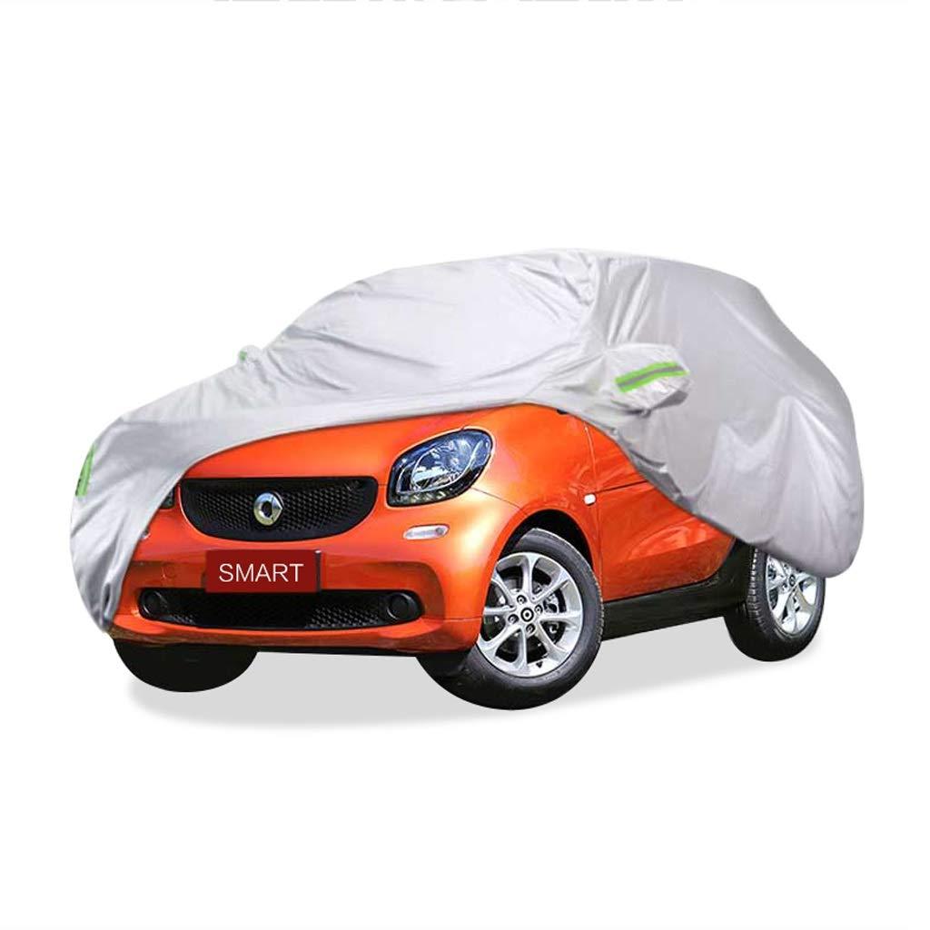 SXET-車のカバー 車のカバーダストカバーメルセデスベンツスマートシリーズ特別な車のカバー日焼け防止雨と雪の傷抵抗 (サイズ さいず : 2017 smart fortwo) 2017 smart fortwo  B07PQF8CL3