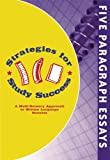 Strategies for Study Success, Five Paragraph Essays, Emily Levy, 0977211088