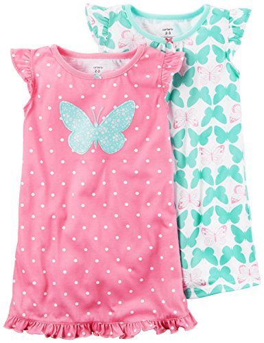 Carters Girls Pack Graphic Gowns
