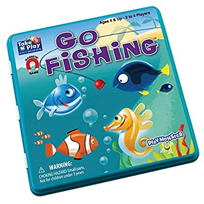 Go Fishing - Take 'N' Play Anywhere Game: Home & Kitchen