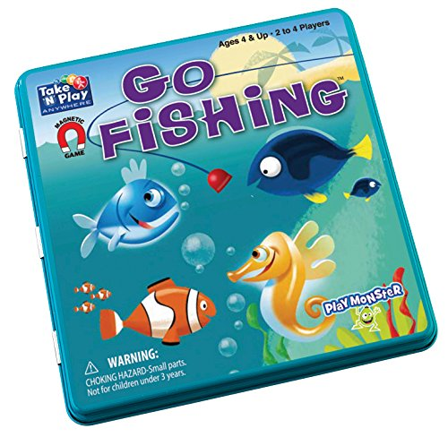 Go Fishing - Take 'N' Play Anywhere Game (Best Travel Games For Toddlers)