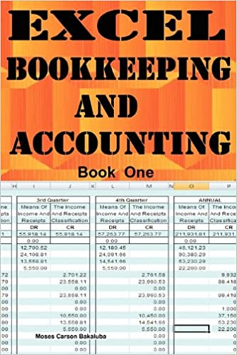 amazon excel bookkeeping and accounting moses carson bakaluba