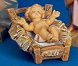 """Fontanini 2.75"""" Long Baby Jesus Religious Christmas"""