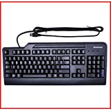 IBM Lenovo Black USB Keyboard UK Model Standard Full Size QWERTY For All Desktops / Laptops / PCs - FRU 41A5327