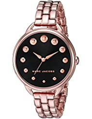 Marc Jacobs Womens Betty Rose Gold-Tone Watch - MJ3495