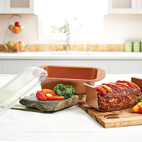 Copper Chef 9 Quot Perfect Loaf Pan Bogo Top 10 Appliances