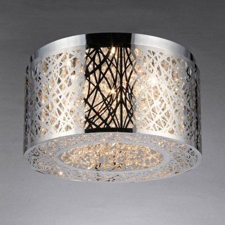 Warehouse of Tiffany RL7992 Indoor Rubens 5-light Chrome Chandelier