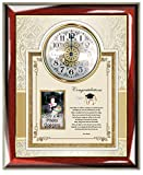 Personalized Unique Poetry Graduation Gift from Parents to College Graduate Gift Clock Picture Frame High School Student Congratulation Plaque