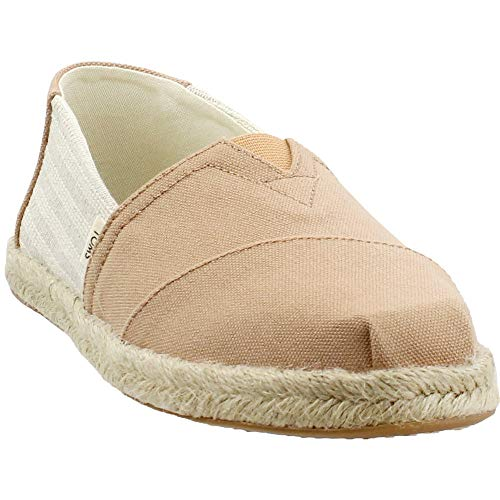 TOMS Women's Alpargata on Rope Honey Ivy League Stripes On Rope 9.5 B US ()