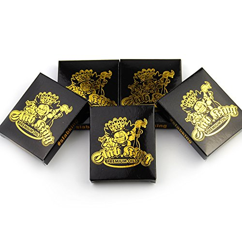 50 SLAB KING Foil Mini Wax Pack Boxes MMJ Packaging by Shatter (Stickers Wax Box)