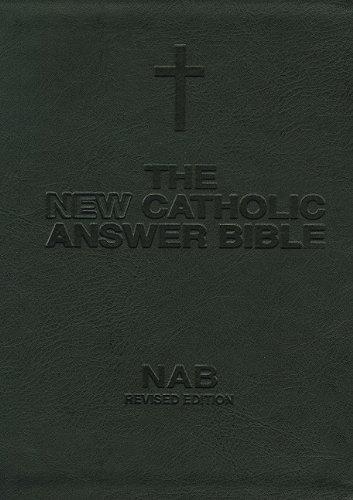 New Catholic Answer Bible-NABRE-Librosario - Nab Giant Print