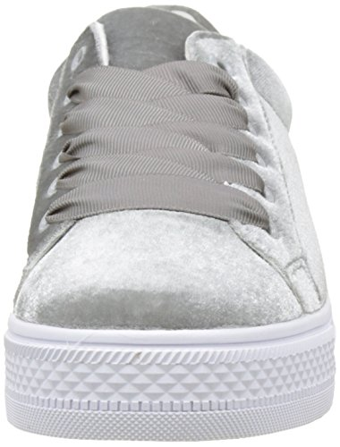 Mujer Molly Zapatillas Gris Velours para Sneakers Bracken Grey 6qwHP