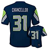 Kam Chancellor Seattle Seahawks Navy Blue NFL Youth 2016-17 Season Mid-tier Jersey