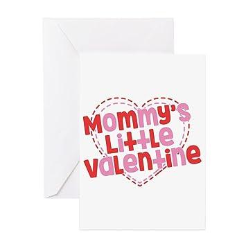 Amazon Cafepress Mommys Little Valentine Greeting Card