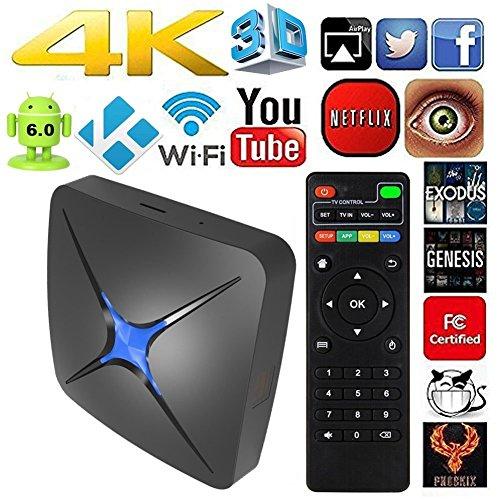 Eliker T96N Quad-core 1G 8G UHD 4K 60fps H.264 Media Center Smart OTT TV box