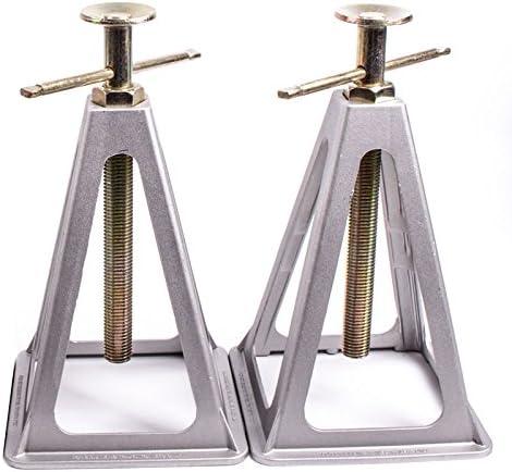 Proplus Stützbock Set 2 Stück Aus Aluminium Sützlast Bis 1800 Kg Für Wohnwagen Oder Anhänger Auto