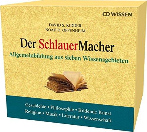 CD WISSEN - Der SchlauerMacher-Box. Allgemeinbildung aus sieben Wissensgebieten, 7 CDs