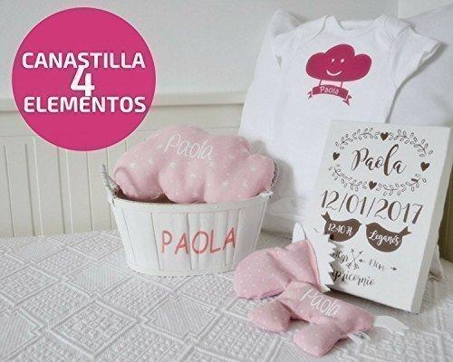 Canastilla de nacimiento personalizada para bebé
