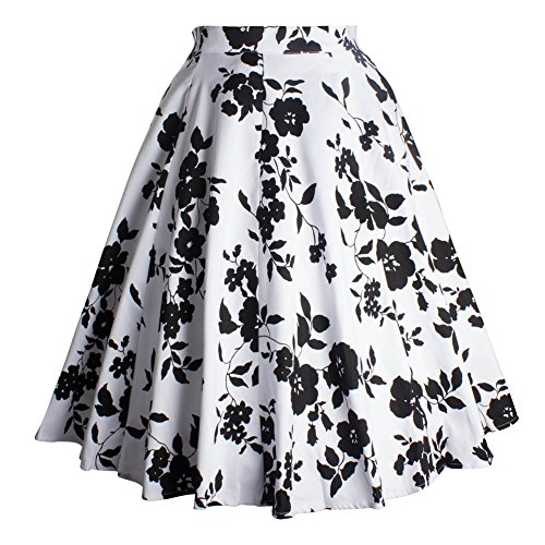 Elegant A Line Vintage Skirts for Women Midi Cotton for sale  Delivered anywhere in USA