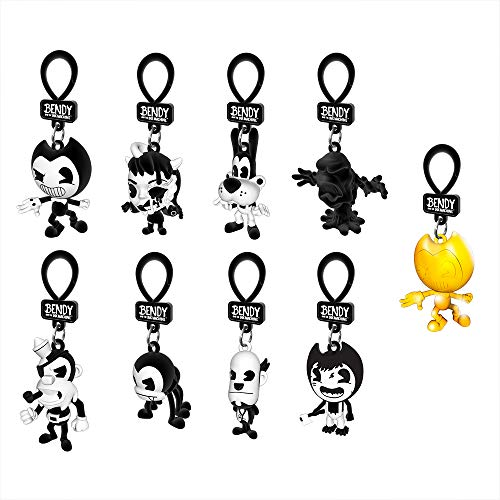 Bendy and the Ink Machine : Collector Clips Figures - Full Set - Series 2 (Bendy From Bendy And The Ink Machine)
