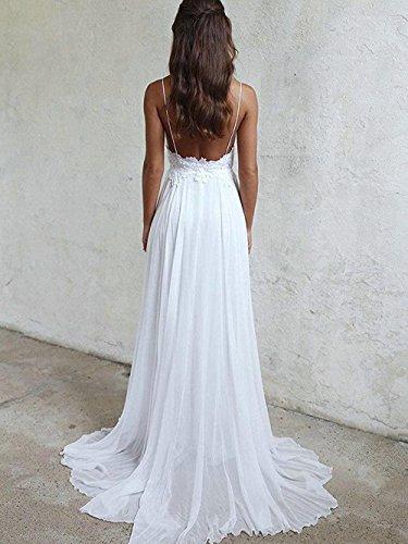 Jaeden Brautkleid Lang Hochzeitskleider Boho Brautmode Strand