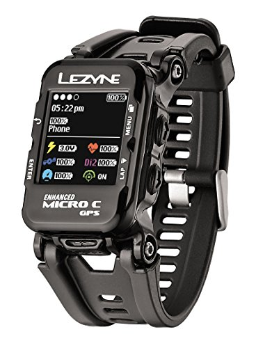 Lezyne Color Watch, Black, One Size by Lezyne