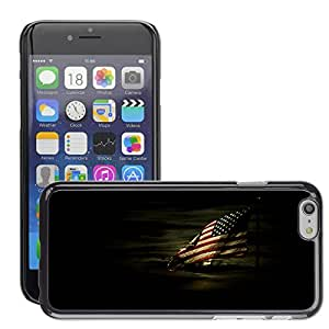 Super Stellar Slim PC Hard Case Cover Skin Armor Shell Protection // M00048965 fullmoon black us military // Apple iPhone 6 PLUS 5.5