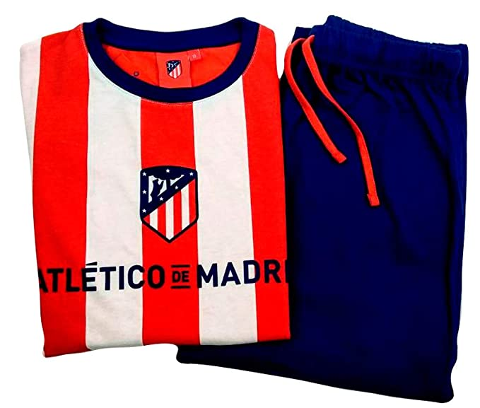 Atletico Pijama Algodón Madrid 6 años - L (6 años)