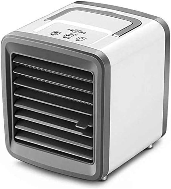 QIYUE Espacio portátil de aire más fresco del aire del ventilador del ventilador del acondicionador de aire más fresco Personal de enfriamiento del escritorio del ventilador for Ministerio del Interio