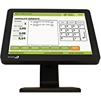 Logic Controls LE1015 15 LCD Touchscreen Monitor - True Flat, Resistive Touch, USB, 1024x768, Black . . . (158937)