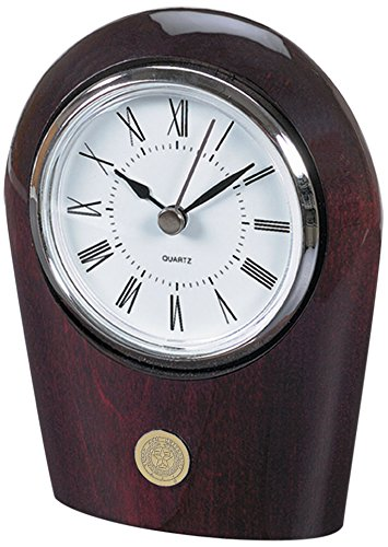 NCAA Texas A&M Aggies Adult Palm Clock, One Size, Silver -